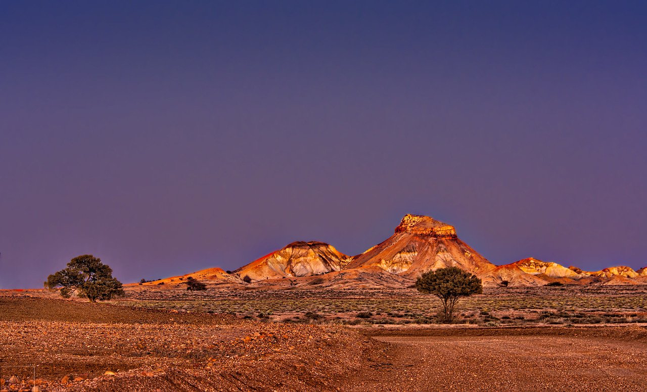 Painted Desert Aflame