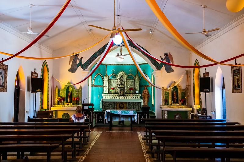 Sacred Heart Church at Beagle Bay