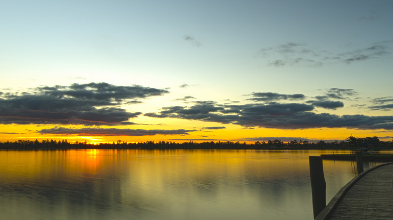 Sunset at Lake Wendouree