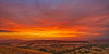 Grampians Fire Sunset