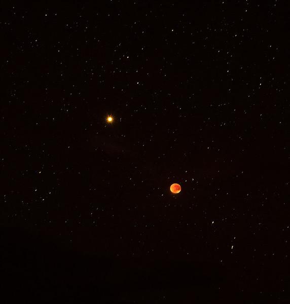 Moon, Mars and Stars