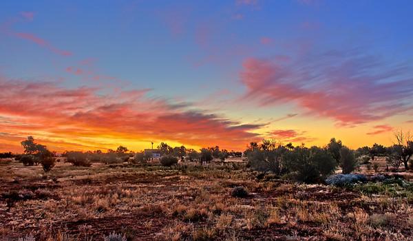 Mount Dare Sunset