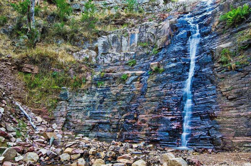 Silverband Falls, Halls Gap