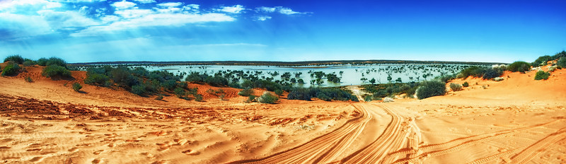 Water in Outback