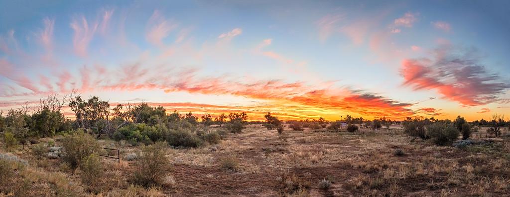 Sunset at Mount Dare