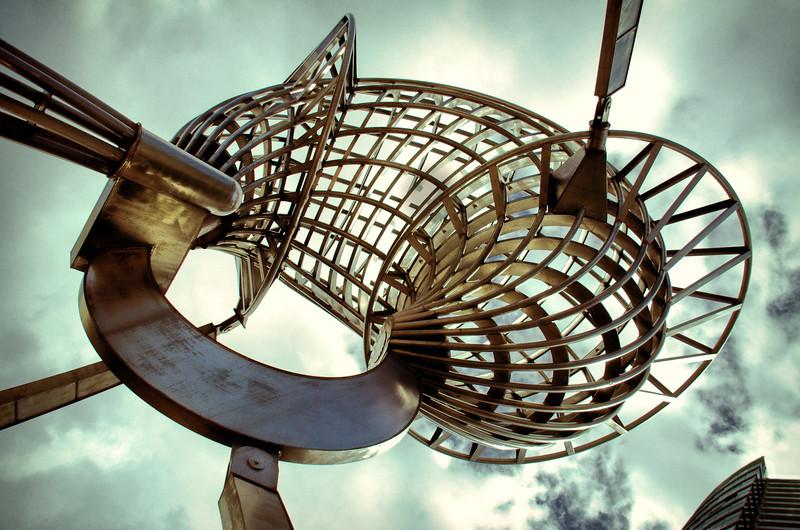 Bartlett Aurora sculpture