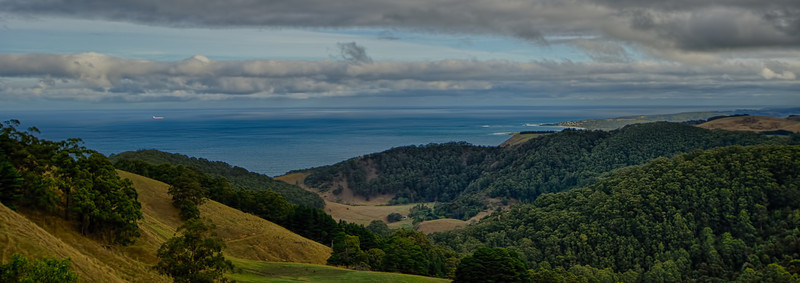 View over Apollo Bay
