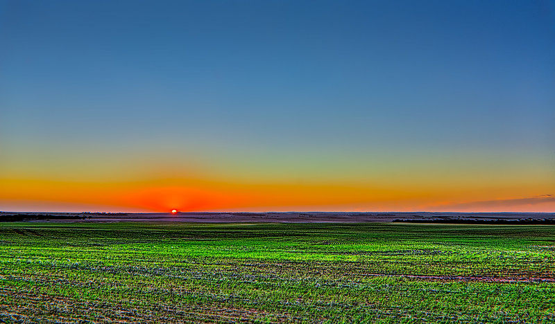 Sunset at Kimba