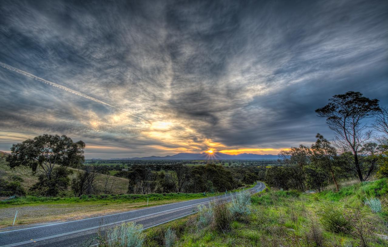 Streaky Sunset