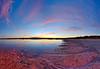 Pink Lake Panorama
