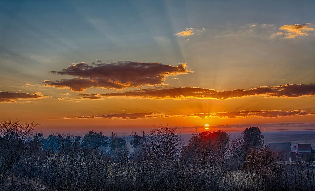 Sunrise at Standerton