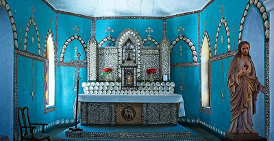 The Altar - Sacred Heart Church at Beagle Bay