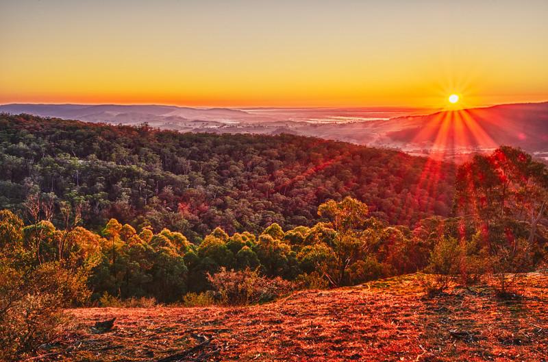 Sunrise at Mount Cole