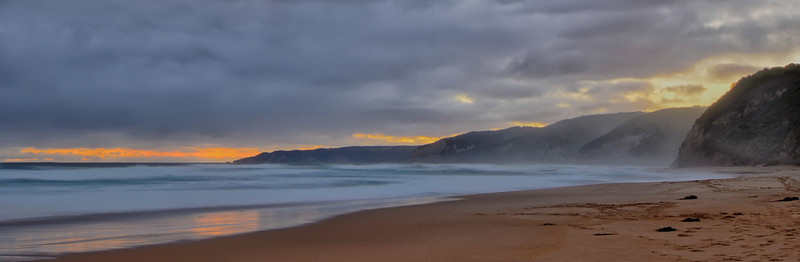Sunset at Johanna beach