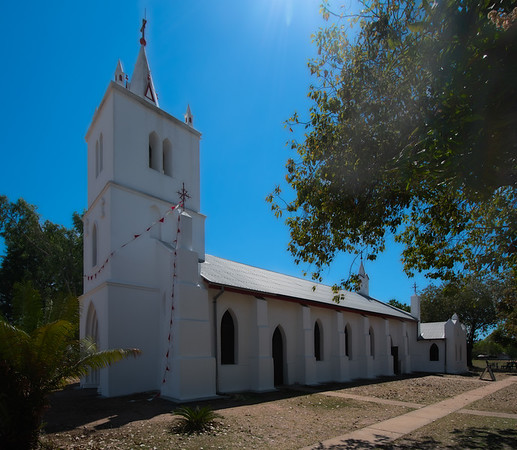 Sacred Heart Church at Beagle Bay