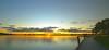 Sunset at Lake Wendouree