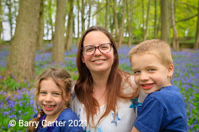 Portrait in the Bluebell Wood