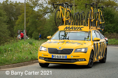 Mavic follow them into Harrogate