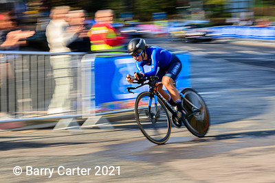 Sofia Collinelli  UCI Worlds Juniot Time Trial 2019