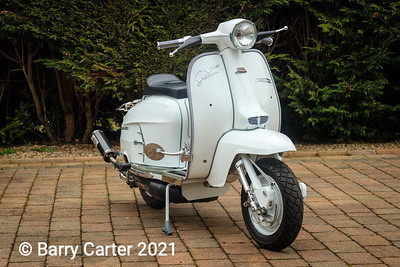 Lambretta SX200 in Showroom Condition