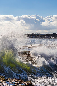 Rolling Waves at Filey