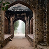 """Through the Arches of Delhi"""