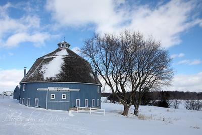Minnesota Round Barns