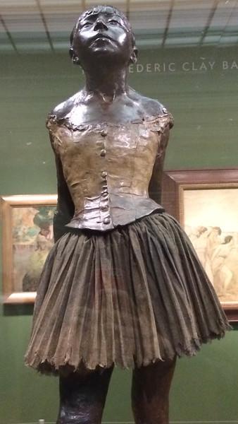 <i>Little Dancer of Fourteen Years</i>, Edgar Degas. Animation: Nick Flaherty
