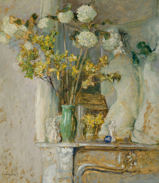 <i>Guelder Roses and the Venus of Milo</i>, Édouard Vuillard. Animation: Kristen Shea