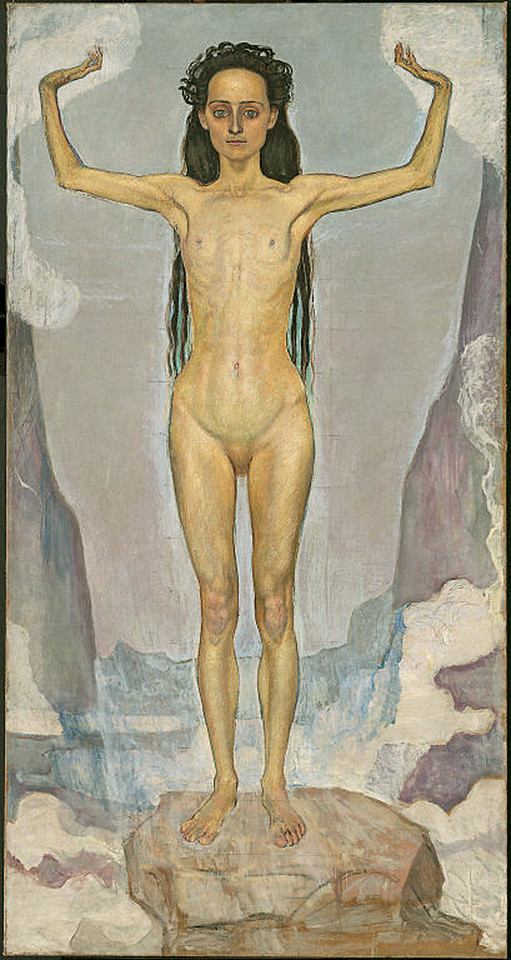 <i>Day (Truth)</i>, Ferdinand Hodler. Animation: Cassandra Davis