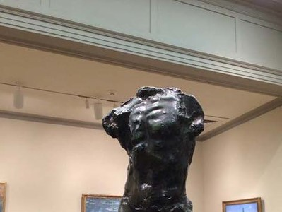 <i>The Walking Man</i>, Auguste Rodin. Animation: Nick Flaherty