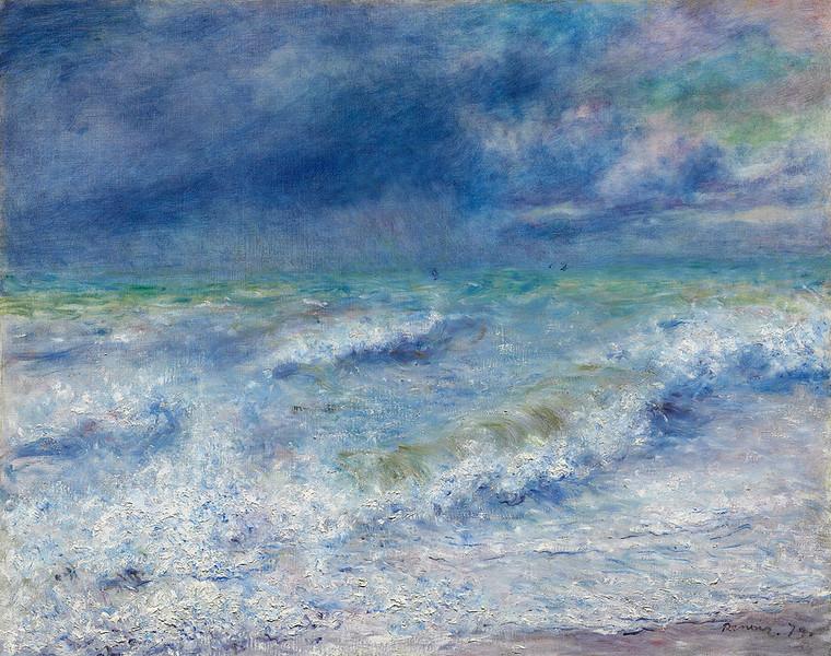 <i>Seascape</i>, Pierre-Auguste Renoir. Animation: Benji Sayed