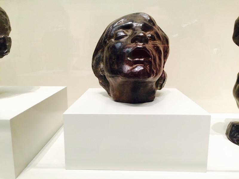 <i>Sorrow</i>, Auguste Rodin. Animation: Sharon Pak