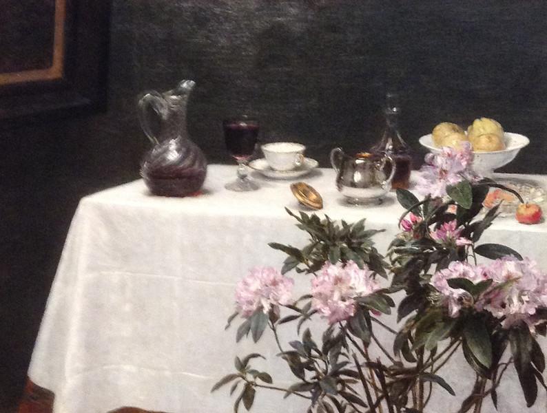 <i>Still Life: Corner of a Table</i>, Henri Fantin-Latour. Animation: Kristen Shea
