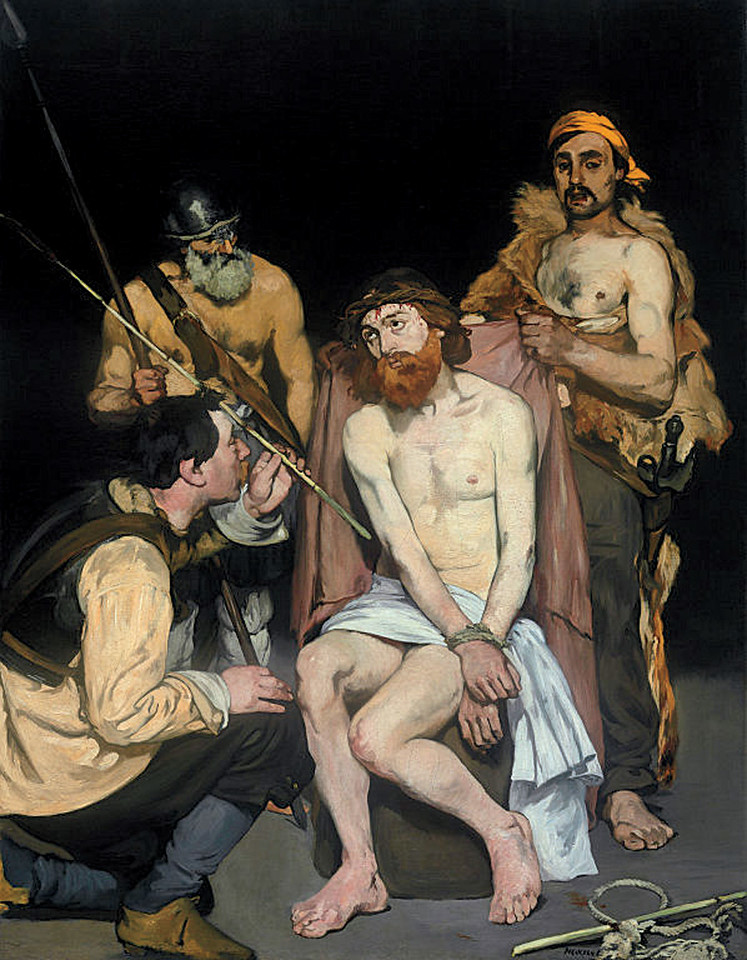 <i>Jesus Mocked by the Soldiers</i>, Édouard Manet. Animation: Cassandra Davis