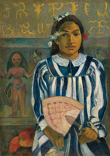 <i>The Ancestors of Tehamana</i>, Paul Gaugin. Animation: Anthony L. Blackhood
