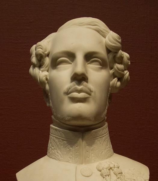 <i>Bust of the Duke of Orléans</i>, Antoine Étex. Animation: Yoo-Jin Lee