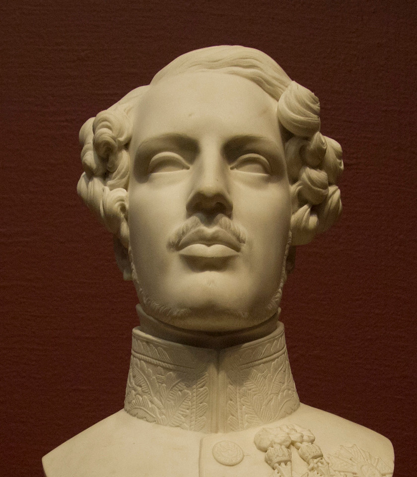 <i>Bust of the Duke of Orléans</i>, Antoine Étex. Animation: Yoo-Jin Lee