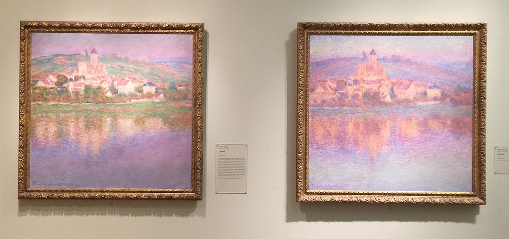 <i>Vétheuil, Vétheuil</i>, Claude Monet. Animation: Jarad Solomon