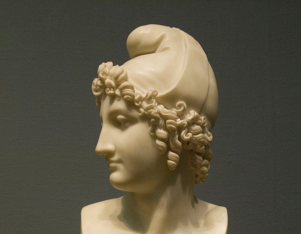 <i>Bust of Paris</i>, Antonio Canova. Animation: Yoo-Jin Lee