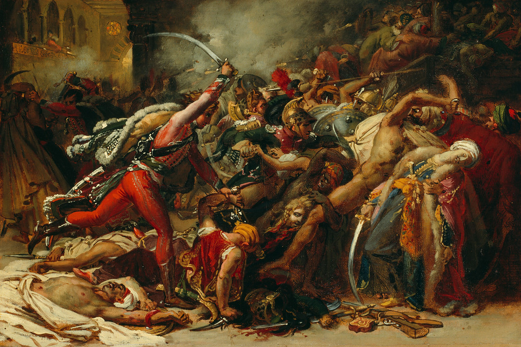 <i>The Revolt of Cairo</i>, Anne-Louis Girodet de Roussy-Trioson. Animation: Amanda Konkol