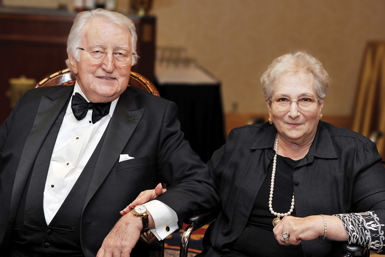 Harriet and Dr. Philip Pumerantz at A Tribute to Caring