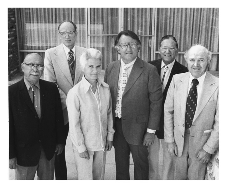 First Board of Trustees for the College of Osteopathic Medicine of the Pacific (COMP), 1978