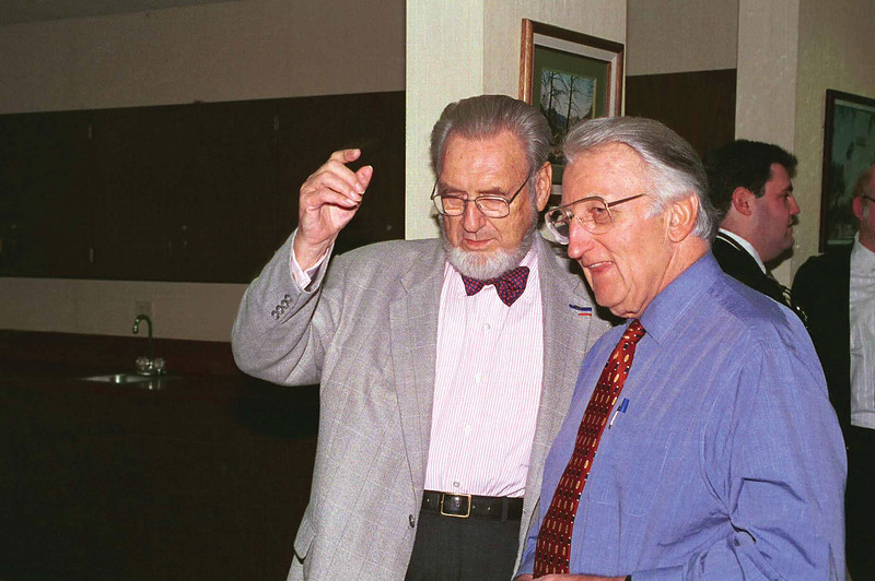 C. Everett Koop, Former Surgeon General of the United States, and Dr. Pumerantz, 1999