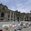 "Government Palace, Plaza De Armas, Lima, Peru, <a href=""http://en.wikipedia.org/wiki/Plaza_Mayor"">http://en.wikipedia.org/wiki/Plaza_Mayor</a>,_Lima"