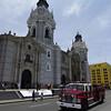 """Firetruck, Plaza De Armas, Lima, Peru, <a href=""""http://en.wikipedia.org/wiki/Plaza_Mayor"""">http://en.wikipedia.org/wiki/Plaza_Mayor</a>,_Lima"""