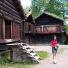 Cathy, Norsk Folkemuseum, Bygdøy, Oslo, Norway