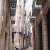 typical narrow streets