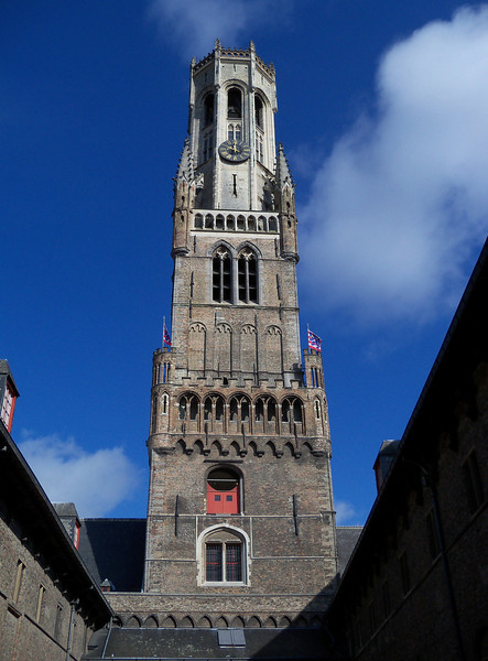 We climbed all 366 steps of the Brugge Clock Tower for views of the city....