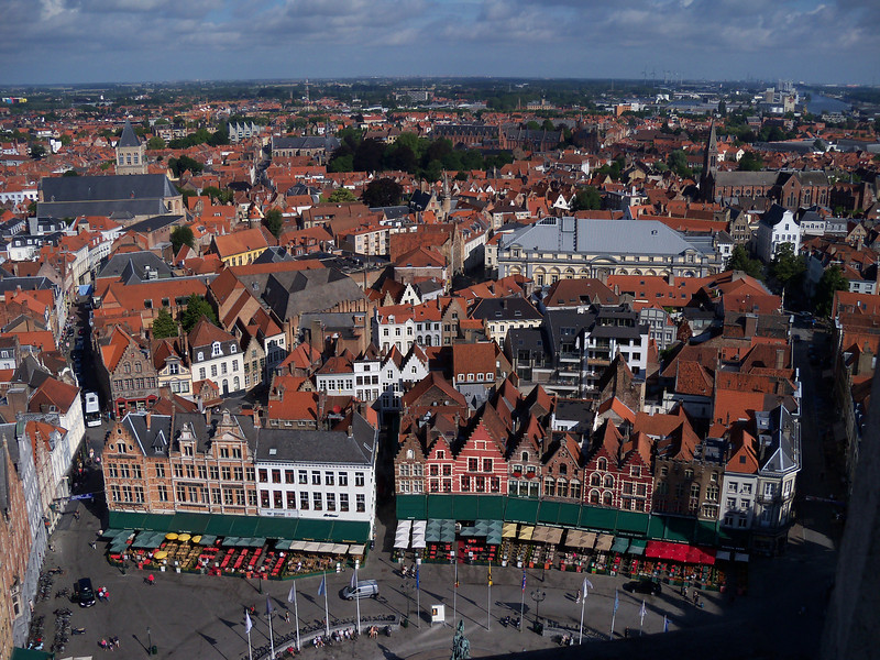 Brugge: the main town square